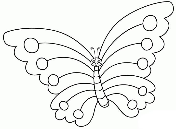 蝴蝶简笔画,高清蝴蝶简笔画图片大全,让宝宝开始学习怎么画蝴蝶吧!