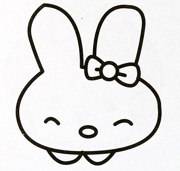 兔子简笔画,高清晰的兔子简笔画图片大全免费下载,培养宝宝绘画天赋!