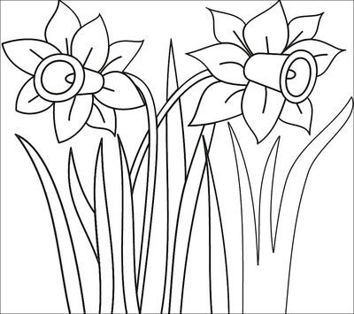 鲜花简笔画,鲜花简笔画图片大全来袭